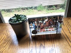 Glass Photo Frame ~ Custom Frame ~ Personalized Picture Frame ~ Photo Frame with Clock ~ Office Desk Glass Photo Frames, Picture Frames, Small Clock, Housewarming Present, Custom Glass, Glass Blocks, Memorable Gifts, Own Home, Custom Framing