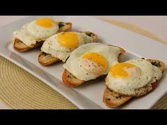 How To Make Homemade Breakfast Bruschetta