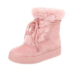 Cizme scurte, casual, cu talpa joasa, siret decorativ si blanita pufoasa si calduroasa. Poarta-le in sezonul rece, cu jeansi, colanti, rochite tricotate, pulovere calduroase si cardigane pufoase, si bucura-te de minunatele zile de toamna si de iarna. Ugg Boots, Uggs, Winter, Casual, Shoes, Fashion, Winter Time, Moda, Zapatos