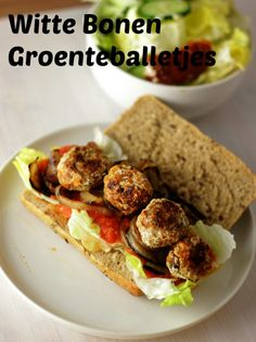 Vegetarische Witte Bonen Balletjes - De Bakparade