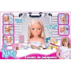 Juguete NANCY - BUSTO ESCUELA DE PELUQUERIA FAMOSA PRECIO 39,17€ en IguMagazine#juguetesbaratos