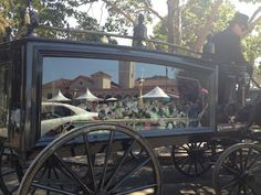 TJ Andrews horse and carriage hearse, at the Rookwood cemetery open day (2012).