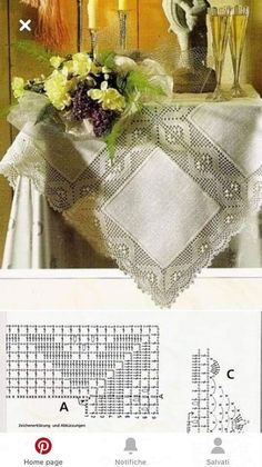 Crotchet, Paths, Table Toppers, Needlepoint