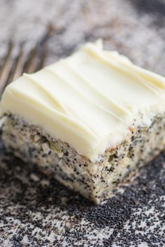 Banana Poppy Seed Cake with Lemon Buttercream   The View from Great Island