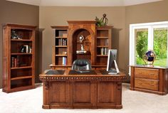 Signature Office Collection  American Furniture   Home Office   Desk   Hand Crafted