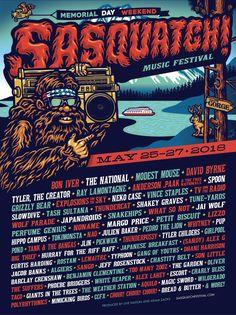 Sasquatch! Music Festival - HarpersBAZAAR.com