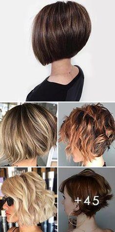 Messy Bob Hairstyles, Short Bob Haircuts, Hairstyles Haircuts, Short Shaggy Bob, Bobs For Thin Hair, Short Hair With Layers, Short Hair Cuts, Fine Hair, Hair Trends
