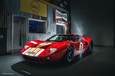 Preparing an Alan Mann GT40 For Goodwood Is A Dream Come True - Petrolicious