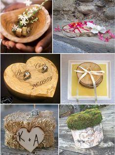 porte alliances mariage bois  ajouter l'incrustation pyrograveur à notre idée