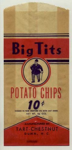 As flat chested as a crisp or a pancake ? At least you can have big tits if having these crisps ladies