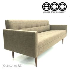New Mid Century Modern Designs! The Judy² Sofa by Atomic Chair Company - Create your Dream Sofa!