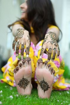 Heavenly henna. Ana has henna on her feet and sometimes hands done by her GBF Jose the tattoo artist.