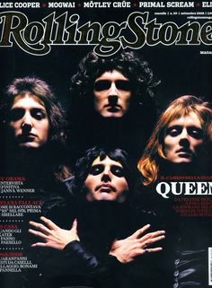QUEEN on Rolling Stone magazine!