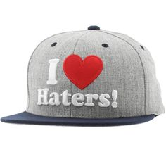 DGK Haters Snapback Cap (athletic heather / royal) DH294ARY - $27.99