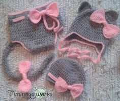 Kitty set for babies