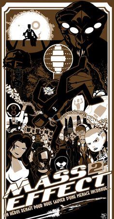 Mass Effect 2 Poster // by Joe Martin.