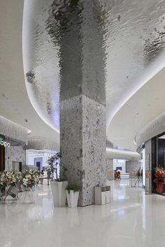 Mall Design, Retail Design, Retail Architecture, Architecture Design, Modern Exterior, Exterior Design, Shopping Mall Interior, Architecture Presentation Board, Column Design