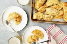 These pierogies are much better than store bought in my opinion. They take some time to prepare, but they are worth it. Experiment with different fillings...I have tried everything from sauerkraut to tuna salad! If you have never had pierogies, they are pasta pockets usually filled with a potato filling. My grandmother was Polish, and we have always had pierogies at Easter, New Years and just as a side dish throughout the year. I am always so surprised when people ask what they are because I…