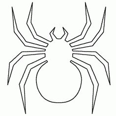 Spider Shape Template - 55 Crafts & Colouring Pages Moldes Halloween, Halloween Templates, Adornos Halloween, Halloween Crafts, Homemade Halloween, Fall Halloween, Preschool Coloring Pages, Animal Coloring Pages, Colouring Pages