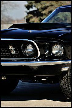 1969 Mustang Mach 1 Fastback 428 SCJ, 4-Speed