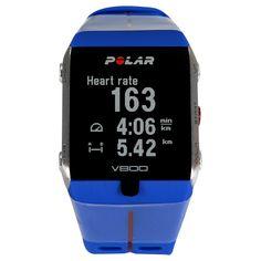 6aca98864b63 RELOJ POLAR V800 Modelo unisex. Sistema HeartTouch. Alertas de vibración y  audio. Métrica