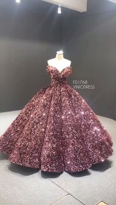 Couture Sparkly Sequin Ball Gown Off the Shoulder Debut Dres.-Couture Sparkly Sequin Ball Gown Off the Shoulder Debut Dresses Sparkly pink sequin couture dresses. Off the shoulder ball gown prom dresses. Sweet 15 Dresses, Cute Prom Dresses, Pretty Dresses, Beautiful Dresses, Formal Dresses, Elegant Dresses, Sexy Dresses, Wedding Dresses, Sparkly Dresses