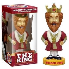 FUNKO BURGER KING WACKY WOBBLER BOBBLEHEAD BOBBLE HEAD picclick.com