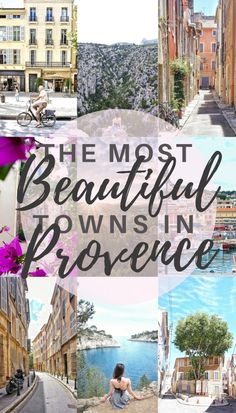 Visiting Provence in France - checkout these beautiful towns and villages.