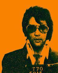 Music Art - Mugshot Elvis Presley  by Wingsdomain Art and Photography #art #elvis