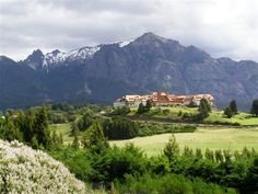 Llao Llao hotel Andes Mountains Argentina.