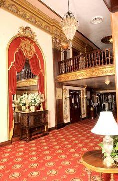 Coleman Theatre Miami, OK Fully restored lobby