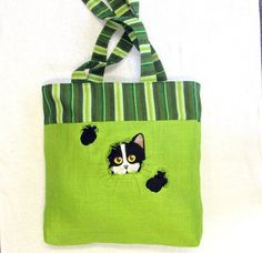 Diy Bags From Old Clothes, Purse Wallet, Pouch, Cat Bag, Jute Bags, Kids Bags, Shopper, Baby Sewing, Handmade Bags
