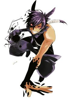 Gengar from pokemon I don't know why but this just makes me think of Nico Di Angelo