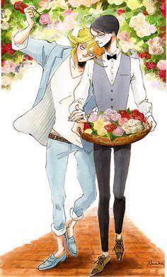 Kusakabe Hikaru x Sajou Rihito / Doukyuusei Nakamura Asumiko, Best Anime Drawings, Haikyuu Tsukishima, Hirunaka No Ryuusei, Gekkan Shoujo, Shounen Ai, Fujoshi, Kawaii Anime, Anime Manga