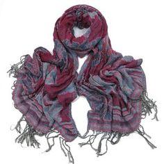 ladies scarf Pink Imogen design scarves shawls wrap neck soft fashion Floral