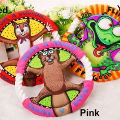 Frisbee Molar Tooth Cleaning UFO Toys