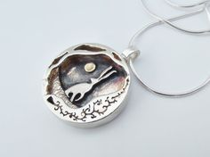 Hey, I found this really awesome Etsy listing at https://www.etsy.com/listing/208568196/hare-and-moon-pendant-sterling-silver