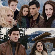 Twilight Jacob And Renesmee, Twilight Book, Breaking Dawn Part 2, Harry Potter Jokes, Book 1, Love Story, Fandoms, Memes, Sunrises