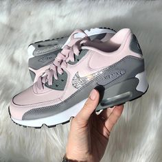 sale retailer cf3c3 20647 Swarovski bling Nike Air Max 90 Sneakers Made with SWAROVSKI® Crystals