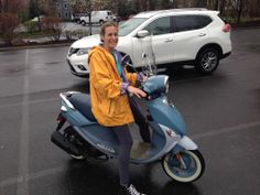 Laura S from Norwalk & her siblings purchased this Certified Pre-owned 2009 Genuine Scooters Buddy International 50 for their Dad's birthday!  #VespaHartford #ScooterCentrale #GenuineScooters #Buddy #MyGenuineScooter