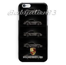 New Best Porsche 911 for iPhone 6 6s 6s+ 7 7+ Print On Hard Plastic Cover Case