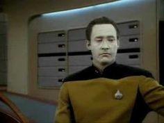 Lieutenant Commander Data Feels Laughter