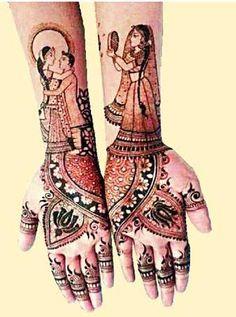 20 Unique Karva Chauth Mehndi designs: Let's Get Dressed Karva Chauth Mehndi Designs, Wedding Mehndi Designs, Mehendi, Get Dressed, Unique, Beautiful, Mehndi