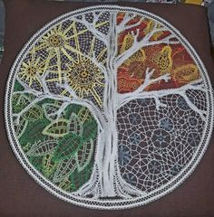 Four Seasons Tree lace