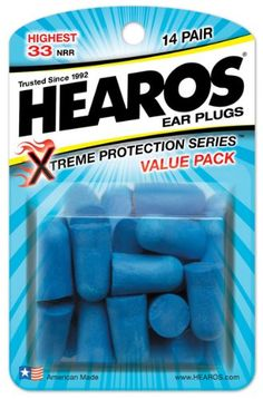 Hearos Ear Plugs Xtreme Protection, 14-Pair Foam (Pack of 3) Hearos,http://www.amazon.com/dp/B001EPQ86A/ref=cm_sw_r_pi_dp_0r-Msb0BZ6H3HVZ2  FOR MEDITATING