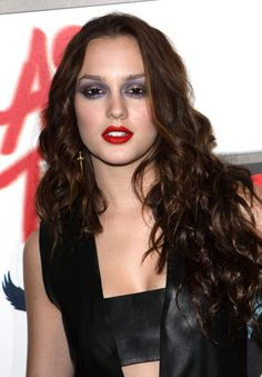 Leighton Meesters long sexy curly hairstyle