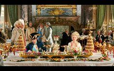 marie antoinette film dining scene