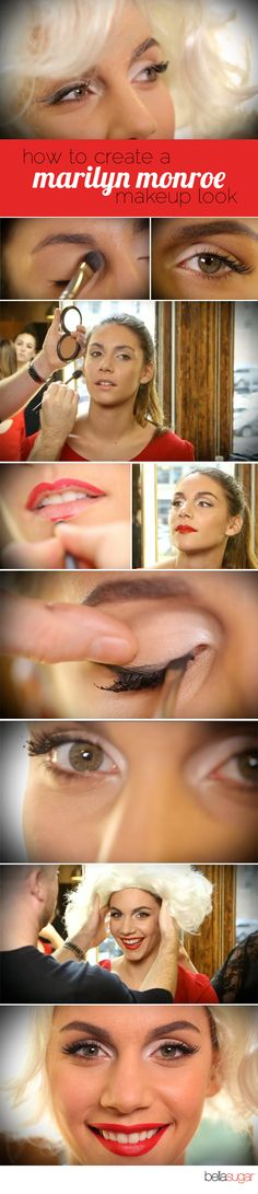 How to create a Marilyn Monroe makeup look