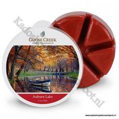 Goose Creek Candle ; ;Auburn Lake WaxmeltDeze herfstgeur opent met fruitige…
