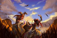 Dance of the Barrens by Athena-Erocith.deviantart.com on @DeviantArt